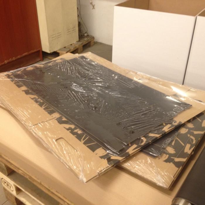 LDPE nyomdázott mikroperforált zsugor féltömlő