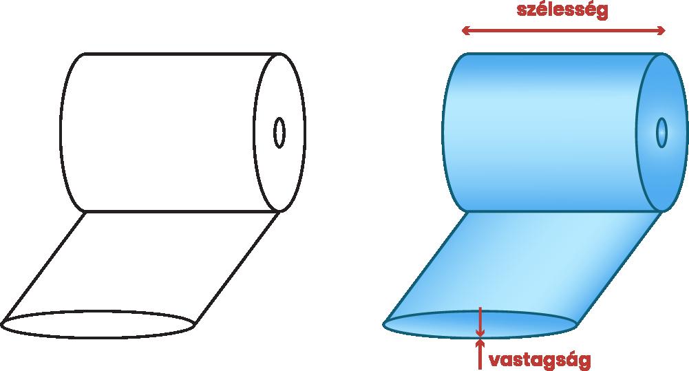 LDPE tömlő